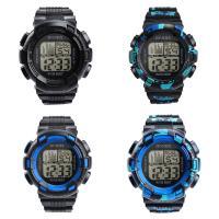 honhx® Uhrenkollektion, PU-Gummi, mit Glas & Harz & Edelstahl, einstellbar & verschiedene Muster für Wahl & LED & für den Menschen & glänzend, 49x17mm, Länge:ca. 9 ZollInch, verkauft von PC
