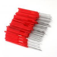Kunststoff Häkeln, mit Eisen, rot, 149mm, 25PCs/Menge, verkauft von Menge