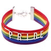 Wollschnur Armband, mit Zinklegierung, silberfarben plattiert, unisex, verkauft per ca. 6.2-7 ZollInch Strang