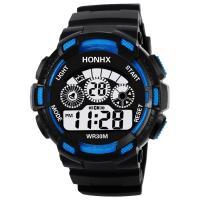 honhx® Uhrenkollektion, TPU Kunststoff, mit Glas & Harz & Edelstahl, einstellbar & LED & für den Menschen & glänzend, keine, 50x17mm, Länge:ca. 9 ZollInch, verkauft von PC