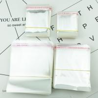 OPP Selbstdichtkissen, Kunststoff, Klebstoff & transparent & verschiedene Größen vorhanden, 10Taschen/Menge, ca. 200PC/Tasche, verkauft von Menge
