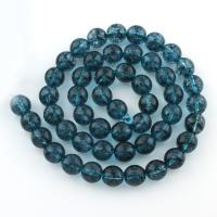 Cyanit Perle, rund, verschiedene Größen vorhanden, Bohrung:ca. 1mm, verkauft per ca. 15 ZollInch Strang