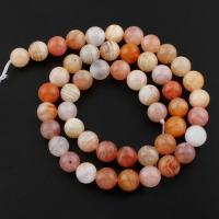 Natürliche Botswana Achat Perlen, rund, verschiedene Größen vorhanden, Bohrung:ca. 1mm, verkauft per ca. 15 ZollInch Strang