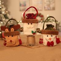 Weihnachtsgeschenkbeutel, Stoff, Weihnachtsschmuck & verschiedene Stile für Wahl, 120x180mm, verkauft von PC