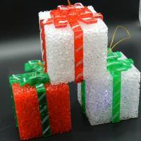 Nachtlampe, EVA Poron, Geschenk Form, Weihnachtsschmuck, 65x80mm, 3PCs/Menge, verkauft von Menge