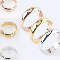 Edelstahl Ringe, plattiert, unisex & verschiedene Größen vorhanden, keine, 6mm, verkauft von PC