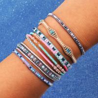 Nylonschnur Woven Ball Armband, mit Seedbead, einstellbar & verschiedene Stile für Wahl & für Frau, verkauft per ca. 6.5-9 ZollInch Strang