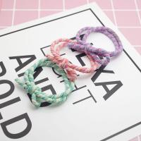 Elastisches Haarband, Baumwolle, mit Gummiband, keine, 50PCs/Menge, verkauft von Menge