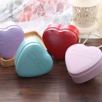 Hochzeit Süßigkeitenkasten, Eisen, Herz, plattiert, verschiedene Größen vorhanden, gemischte Farben, 10PCs/Menge, verkauft von Menge