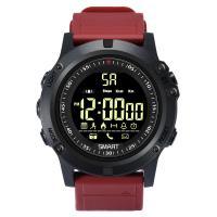 RISTOS® Uhrenkollektion, Silikon, mit Glas & Edelstahl, schwärzen, Multifunktions & unisex & einstellbar & LED & glänzend, keine, 15.2mm, Länge:ca. 10 ZollInch, verkauft von PC