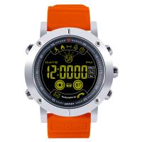 RISTOS® Uhrenkollektion, Silikon, mit Glas & Edelstahl, plattiert, Multifunktions & unisex & einstellbar & LED & glänzend, keine, 14.5mm, Länge:ca. 10 ZollInch, verkauft von PC