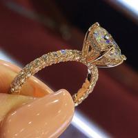 Zinklegierung Fingerring , plattiert, verschiedene Größen vorhanden & für Frau & mit Strass, keine, frei von Blei & Kadmium, verkauft von PC
