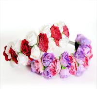 Gemischter Haarschmuck, Stoff, Blume, für Frau, keine, 40x7mm, verkauft von PC