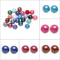 ABS-Kunststoff-Perlen Perle, rund, verschiedene Größen vorhanden & kein Loch, keine, verkauft von Tasche