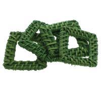Rohrstock Kostüm Zubehör, Squaredelle, handgefertigt & gewebte Muster, 40x37x5mm-42x45x5mm, 50PCs/Tasche, verkauft von Tasche