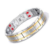 Titanstahl Armband, plattiert, für den Menschen, 15mm, verkauft per ca. 8 ZollInch Strang