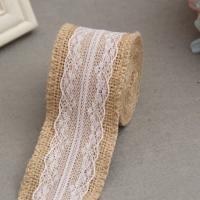 Leinen Lace Trime, mit Spitze & Polyester, verschiedene Stile für Wahl, verkauft von m
