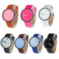 Damen Armbanduhr, PU Leder, mit Glas & Zinklegierung, metallschwarz plattiert, einstellbar & für Frau, keine, 40x10mm, Länge:ca. 9.4 ZollInch, verkauft von PC