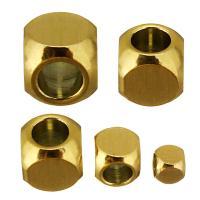Edelstahl-Beads, Edelstahl, plattiert, verschiedene Größen vorhanden, keine, 100PCs/Tasche, verkauft von Tasche