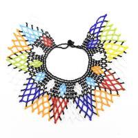 Kunststoff Halskette, mit Harz, Folk-Stil & verschiedene Stile für Wahl, verkauft per ca. 13 ZollInch, ca. 18.9 ZollInch Strang