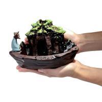 Porcelain Backflow Incense Burner, Porzellan, 190x120x115mm, verkauft von PC