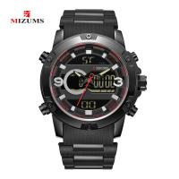 MIZUMS® Uhrenkollektion, Glas, mit Kunststoff & Zinklegierung, plattiert, für den Menschen & glänzend, keine, 48x14mm, Länge:ca. 8.6 ZollInch, verkauft von PC