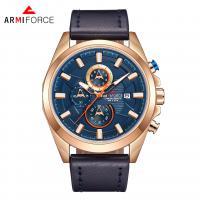 ARMIFORCE® Uhrenkollektion, Glas, mit PO Leder & Zinklegierung, plattiert, für den Menschen, keine, 46x12mm, Länge:ca. 10.2 ZollInch, verkauft von PC