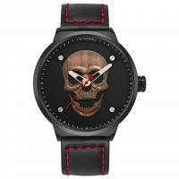 WWOOR® Collection Uhr, Glas, mit PO Leder & Zinklegierung, plattiert, für den Menschen, keine, 48x13mm, Länge:ca. 9.4 ZollInch, verkauft von PC
