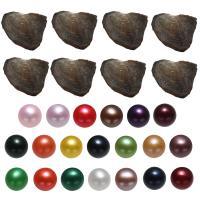 Süßwasser kultivierte Liebe wünschen Perlenaustern, Natürliche kultivierte Süßwasserperlen, Kartoffel, gemischte Farben, 7-8mm, 20PCs/Tasche, verkauft von Tasche