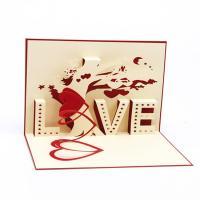 Grußkarte, Papier, handgemacht, mit Umschlag & 3D-Effekt, 100x150mm, verkauft von PC