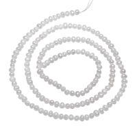 Barock kultivierten Süßwassersee Perlen, Natürliche kultivierte Süßwasserperlen, Klumpen, natürlich, weiß, 2-3mm, verkauft per ca. 15.5 ZollInch Strang