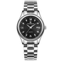 ONTHEEDGE®-Frauen-Schmuck-Uhren, 316 L Edelstahl, mit Glas, plattiert, für Frau & wasserdicht & mit Strass, keine, 28x8mm, 12mm, Länge:ca. 8.2 ZollInch, verkauft von PC