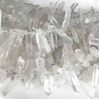 Natürliche klare Quarz Perlen, Klarer Quarz, Klumpen, verschiedene Größen vorhanden, verkauft per ca. 14.9 ZollInch Strang
