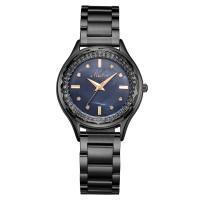 MEIBIN® Damen Schmuck Uhren, Zinklegierung, mit Glas, plattiert, für Frau & mit Strass, keine, 34x11mm, Länge:ca. 9.4 ZollInch, verkauft von PC