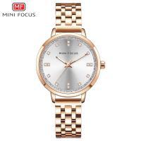 MINIFOCUS® Uhrenkollektion, Zinklegierung, mit Glas & Edelstahl, plattiert, für Frau & mit Strass, keine, 35mm, Länge:ca. 8 ZollInch, verkauft von PC