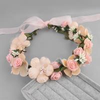 Brautkranz, Stoff, Blume, handgemacht, Hochzeitsgeschenk & für Frau, keine, 500x60mm, verkauft von PC