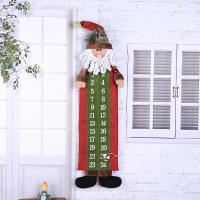 Stoff Weihnachtskalender, Weihnachtsschmuck & verschiedene Stile für Wahl, 230x900mm, 10PCs/Menge, verkauft von Menge