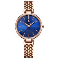 WWOOR® Collection Uhr, Zinklegierung, mit Glas & Edelstahl, plattiert, für Frau & mit Strass, keine, 32mm, Länge:ca. 7 ZollInch, verkauft von PC