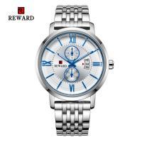 Reward® Uhrenkollektion, Zinklegierung, mit Glas & Edelstahl, plattiert, für den Menschen, keine, 45mm, Länge:ca. 9 ZollInch, verkauft von PC