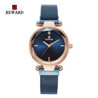 Reward® Uhrenkollektion, Zinklegierung, mit Glas & Edelstahl, plattiert, für Frau, keine, 32mm, Länge:ca. 9.4 ZollInch, verkauft von PC