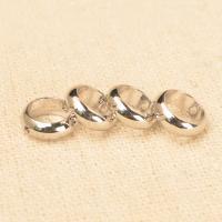 Messing Perlen Einstellung, plattiert, verschiedene Größen vorhanden, keine, frei von Nickel, Blei & Kadmium, Bohrung:ca. 1-1.2mm, 100PCs/Menge, verkauft von Menge