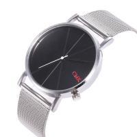 Unisexe Armbanduhr, Zinklegierung, mit Glas & Edelstahl, plattiert, keine, frei von Nickel, Blei & Kadmium, 38mm, 20mm, Länge:ca. 9.5 ZollInch, verkauft von PC
