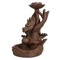 Porcelain Backflow Incense Burner, Porzellan, 130x200x120mm, verkauft von PC