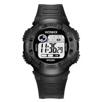 honhx® Uhrenkollektion, Harz, mit TPU Kunststoff & organisches Glas & Edelstahl, plattiert, unisex & glänzend, keine, 43mm, Länge:ca. 9 ZollInch, verkauft von PC