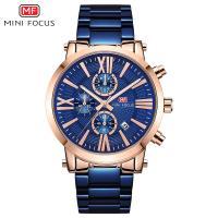 MINIFOCUS® Uhrenkollektion, Edelstahl, mit Glas & Zinklegierung, plattiert, für den Menschen & glänzend, keine, 38.5mm, Länge:ca. 8.7 ZollInch, verkauft von PC