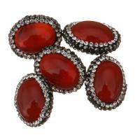 Natürliche kultivierte Süßwasserperlen Perle, mit Ton, Klumpen, 20-22x17x12mm, Bohrung:ca. 1mm, 10PCs/Menge, verkauft von Menge