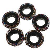 Natürliche Lava Perlen, mit Ton, 25x8mm, Bohrung:ca. 12mm, 10PCs/Menge, verkauft von Menge