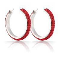 Edelstahl Ohrringe, mit Ton, für Frau, keine, 6.2x35mm, verkauft von Paar