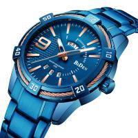 BIDEN® Uhrenkollektion, Edelstahl, mit Glas & Zinklegierung, plattiert, für den Menschen, keine, 41mm, Länge:ca. 10.8 ZollInch, verkauft von PC