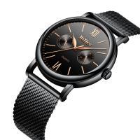 BIDEN® Uhrenkollektion, Edelstahl, mit Glas & Zinklegierung, plattiert, für den Menschen, keine, 42mm, Länge:ca. 9.2 ZollInch, verkauft von PC